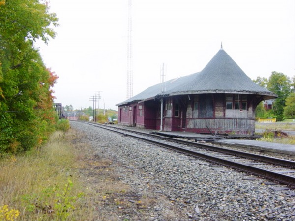 Greenville Junction Depot.