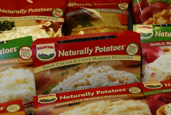 Naturally Potatoes' biggest market remains restaurants and food service companies, but it has begun offering retail products, as well. Currenly available in an IGA near Mars Hill, the company is talking with grocery chains now to offer the food in Southern Maine.