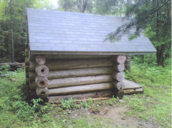 We have a camp in Bancfroft, Maine. Our old one was in bad shape. Each time I went for a 4-wheeler ride, I would look for cedar logs laying on side of the woods roads. That took about a year to do that, then I started to build. Another 2-3 years went by and my brother threatened to burn down what I had made, so I got help and finished it. We put power to the outhouse for lights and heat that we can turn on inside of camp. Now everyone loves the new/old outhouse.