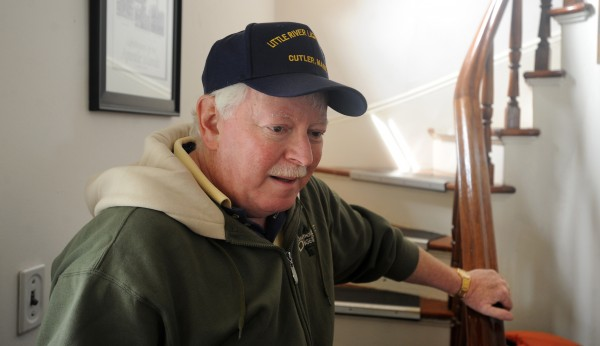 Tim Harrison of Whiting is the chairman of the Friends of Little River Light. He has been involved with the restoration of the lighthouse and the former lightkeeper's house on Little River Island in Cutler since the late 1990s.