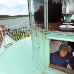 Lighthouse in Cutler given rare telescope