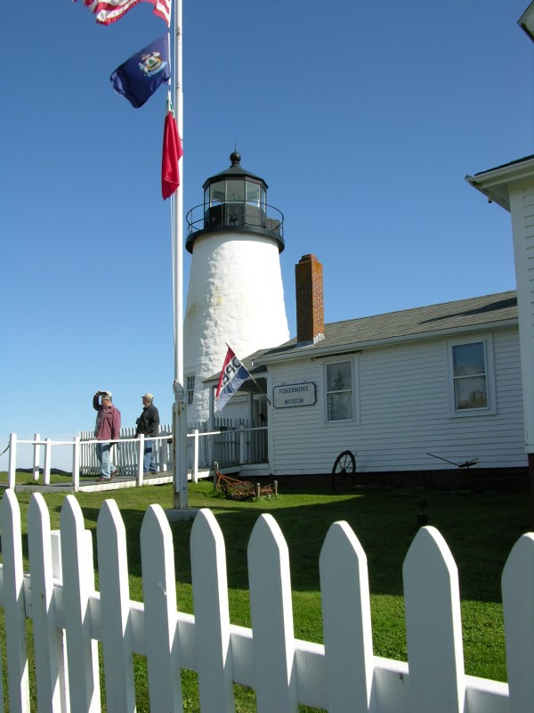 Fishermen's Museum, Pemaquid Point in Bristol, Maine