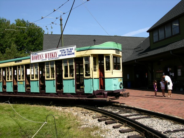 Seashore Trolley Museum in Kennebunkport, Maine