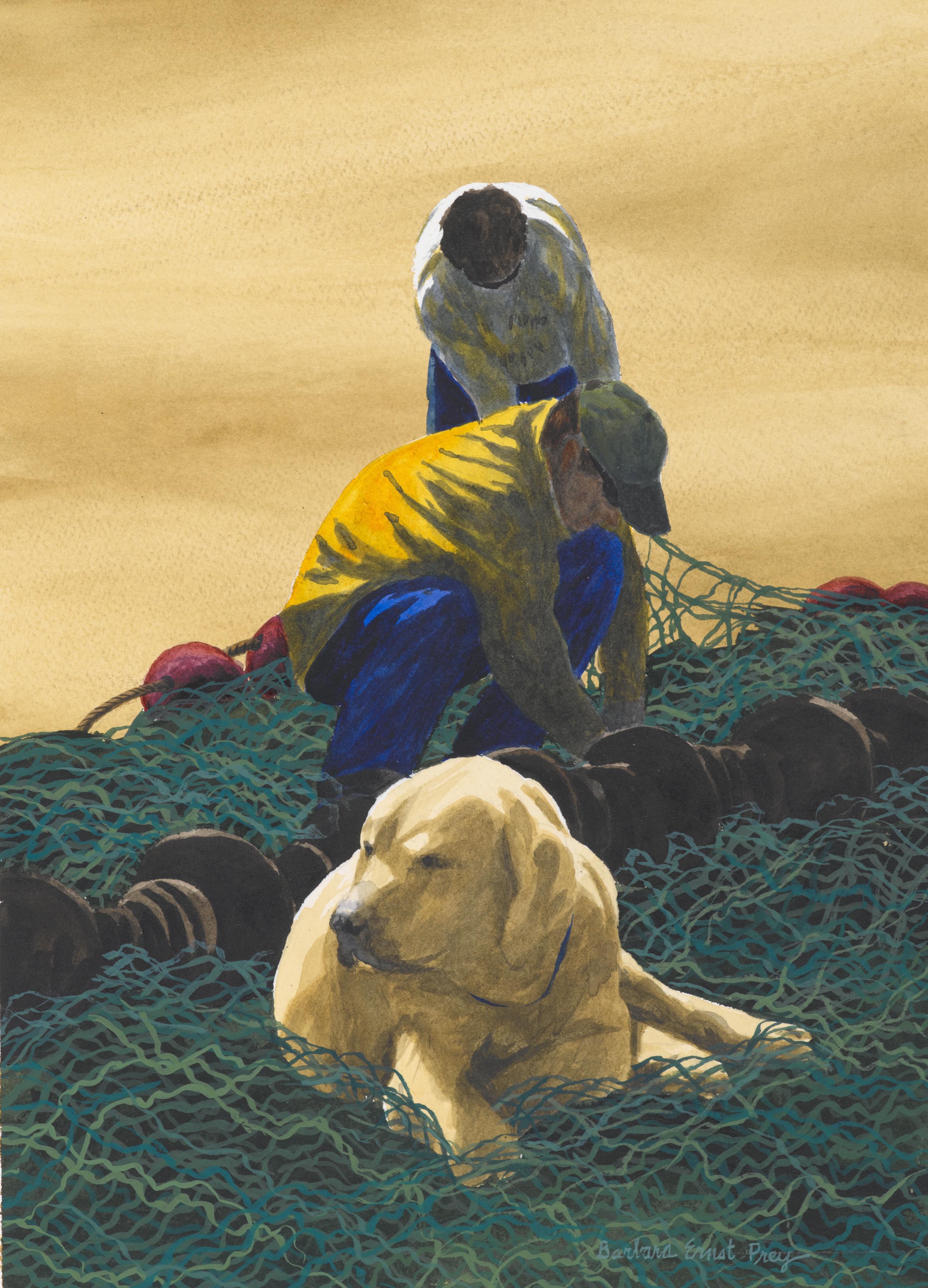 """""""Menders Assistant"""" by Barbara Ernst Prey."""