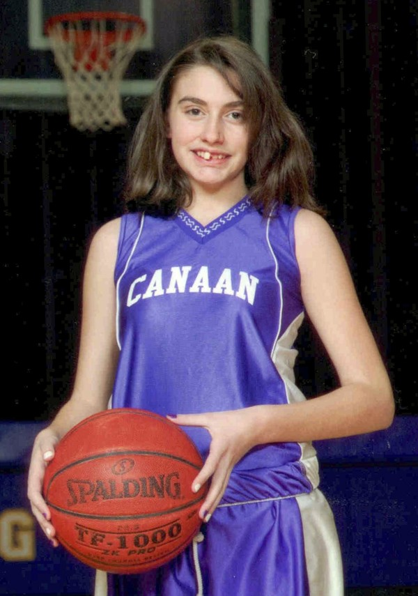 This 2010 photo provided by the New Hampshire State Police shows Celina Cass of West Stewartstown, N.H., in a basketball team uniform in Canann, Vt.  Law enforcement officials are searching for Cass, who they say was last seen at her home the night of Monday, July 25, 2011.