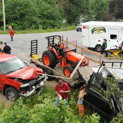 Two suffer serious injuries in accident on Moosehead Trail
