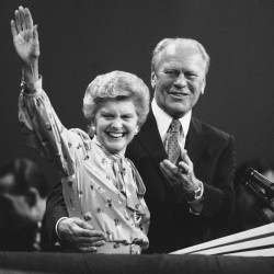 Betty Ford asked for talk of politics at funeral to be held Tuesday