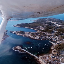 Plane carrying 4 crashes off Matinicus Island