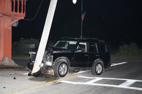 Rockland Fire and EMS personnel responded to a single vehicle accident at Main and Myrtle Streets at 12:05 AM this morning.