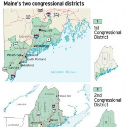 Partisan battle looms as Maine redistricting plan due