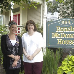 Lowe's to fix deck at McDonald house