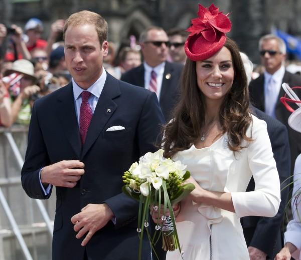 Prince William and wife Kate, the Duke and Duchess of Cambridge participate in Canada Day celebrations on Parliament Hill Friday, July 1, 2011 in Ottawa, Ontario.
