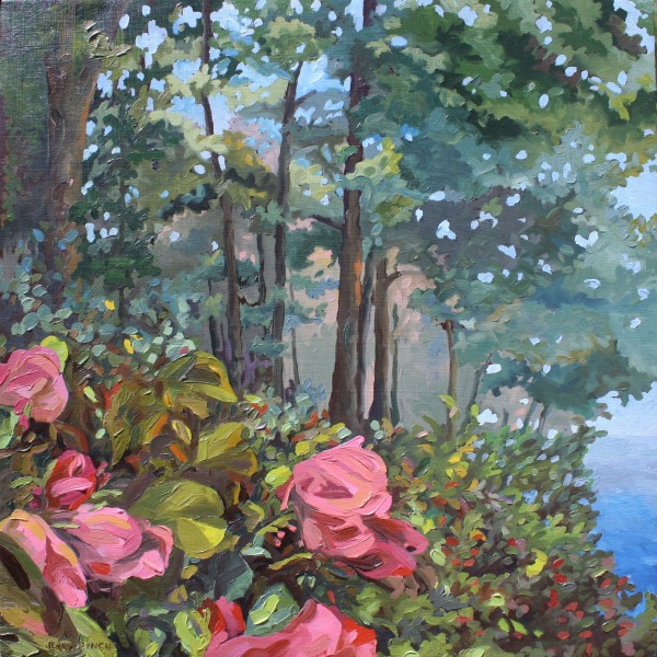"""Garden III"" oil painting by Jerri Finch"