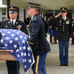 Governor orders flags at half staff Friday for soldier's funeral
