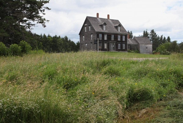 The Olson House, where Andrew Wyeth painted &quotChristina's World,&quot is seen Friday, July 1, 2011 in Cushing, Maine. The house was one of 14 locations to receive the designation as a national landmark from U.S. Secretary of the Interior Ken Salazar.