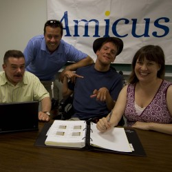 Amicus official wins award for promotion of signing