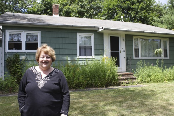 Ria Biley, 62, of Rockland, bought her first home, a 1960s ranch in Rockland. Biley was helped by a low-to-moderate income loan program by USDA, which recently has expanded to help more Mainers.