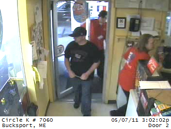 The Bucksport Police Department is seeking the public's help in identifying a man wanted for questioning related to a theft that happened sround 3 p.m. May 7 at the Bucksport Circle K. Anyone with information is asked to call Sgt. David Winchester at the Bucksport Police Department at 469-7951.