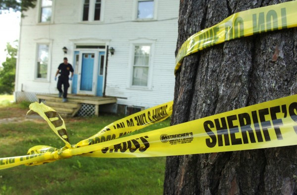 On Friday 22, 2011, state police remained on the scene of a homicide which occurred Thursday night on Ham Hill Road in Cambridge, Somerset county.