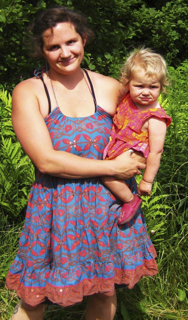 Belfast mom Alessandra Martinelli is aiming to become a professional doula, or birth helper.