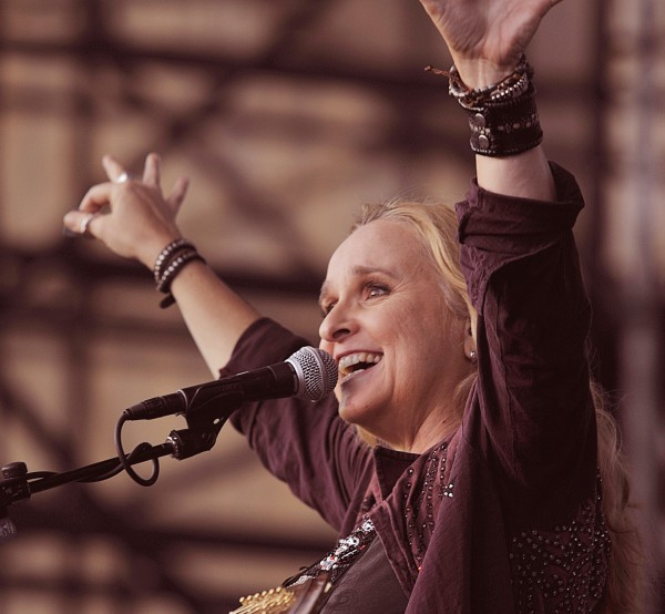 Melissa Etheridge performs at the summer concert series on the Bangor, Maine waterfront Saturday, July 23, 2011.