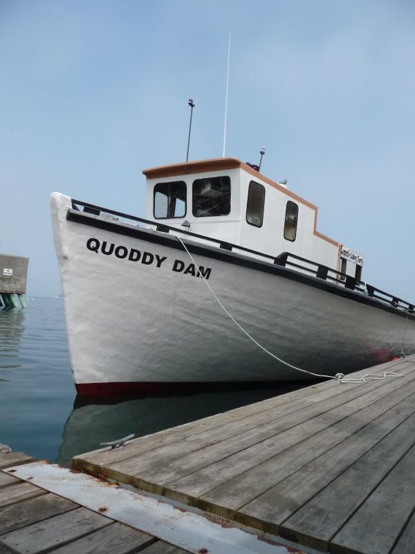 The Quoddy Dam ferry.