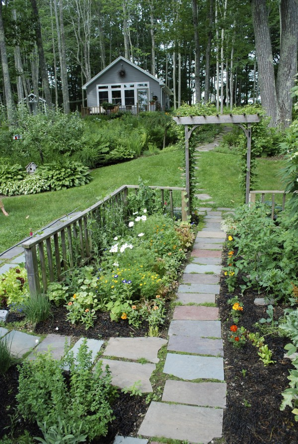 The kitchen garden and Finch art studio will the feature of the Belfast Open Garden Days tour 100 a.m.-4 p.m. Friday, July 22.