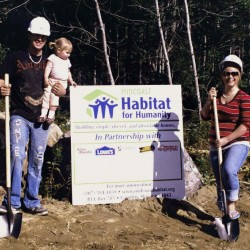 Searsport steps up big for second Habitat house