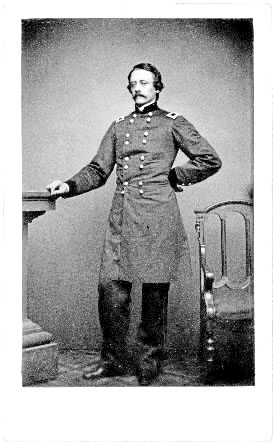 Colonel Charles D. Jameson commanded the 2nd Maine Infantry Regiment in July 1861. He displayed considerable bravery during the Battle of Manassas and later earned a general's star.