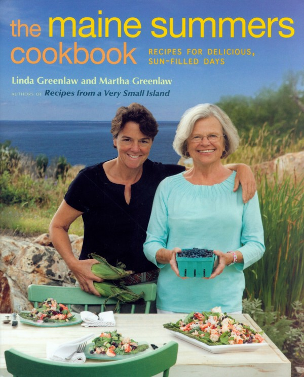 """The Maine Summers Cookbook"" by Linda Greenlaw and Martha Greenlaw."