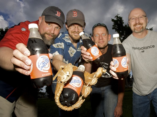 The Half Moon Jug Band (from left), Troy R. Bennett, Carter Ruff, Mike the Drummer and Steve Brewer, performed at the 2011 Moxie Festival to celebrate Maine's official soft drink.