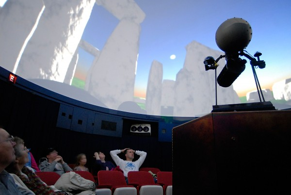 "Stargazers were treated to a program titled ""Season of Light"" at the Maynard F. Jordan Planetarium at the University of Maine in Orono in 2008. The program examined the origin of the world's seasonal traditions and how astronomy has figured into them."