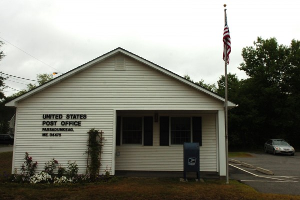 On Tuesday, the U.S. Postal Service announced the closure of about 3,700 branches across the county, including the Passadumkeag, Maine, branch.
