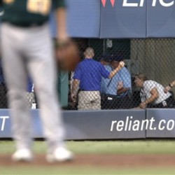 Texas Rangers fan dies from fall reaching for ball