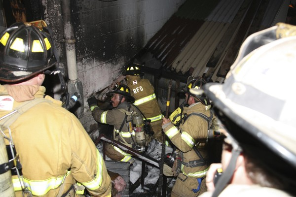 The Rockland Fire Department was called to a structure fire at the Trade Winds Motor Inn at 12:43 a.m. Sunday, July 24, 2011.