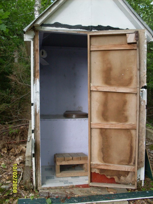 "Gretchen Mourtgos of West Valley City, Utah, says, ""Our love affair with an outhouse began in 1965 when my parents bought a small camp on Pennamaquan Lake in Charlotte, Maine.