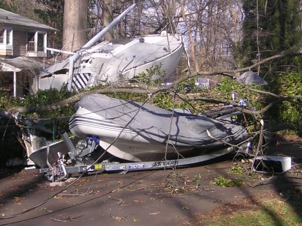 If a tree damages your boat and trailer, do you know which insurance policy will take care of the trailer? BoatUS has some answers.