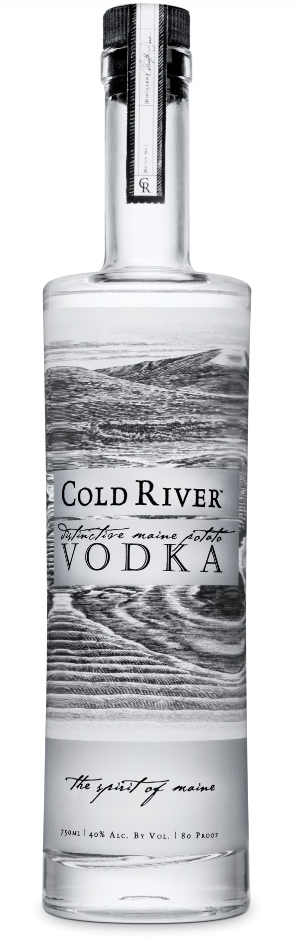 Cold River Vodka, craft-distilled in small batches by Maine Distilleries, has been named as one of the top spirits in the world in 2011 by a leading spirits expert.