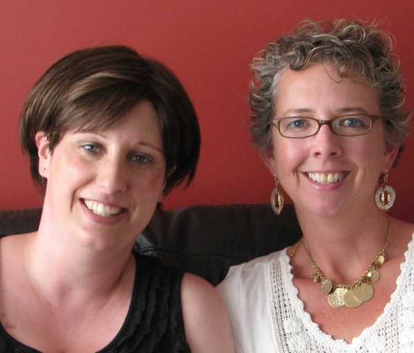 Jenny Sewell (left) and Rori Knott have supported the Beach to Beach Swim for more than eight years, but the fundraiser will mean even more this year. Sewell was diagnosed with breast cancer in 2010.