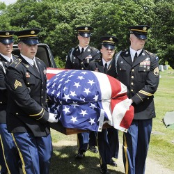 LePage orders flags lowered for WWII soldier's funeral