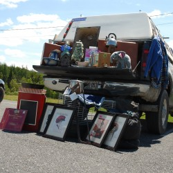 Yard sale extends 30 miles through northern Maine