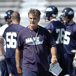 Hydration critical as UMaine football team begins preseason workouts