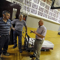 Bangor High gymnasium gets $136,000 face-lift