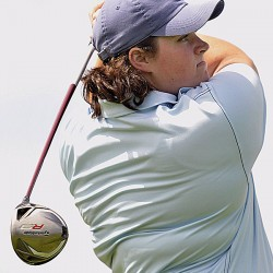 Saco golfer surges to first-round lead at women's state championship