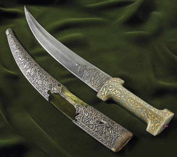 The rare 16th or 17th century Persian sword called a jambiya brought $304,000 recently at Bonhams and Butterfields in San Francisco.