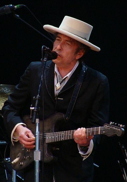Bob Dylan onstage at the Azkena Rock Festival, Vitoria-Gasteiz, Spain, June 26, 2010.