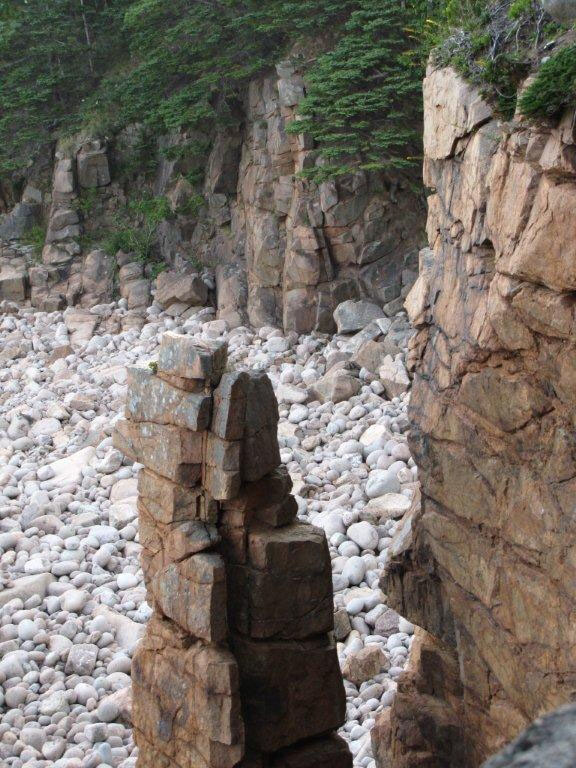Otter Cliff Trail, Acadia National Park