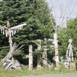 Houlton officials midway through cleanup of artist's property