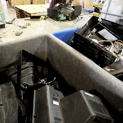 Electronic waste piles up for recyclers
