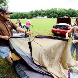 Campers roll in, wedding planned as Redneck Blank opens in Hebron